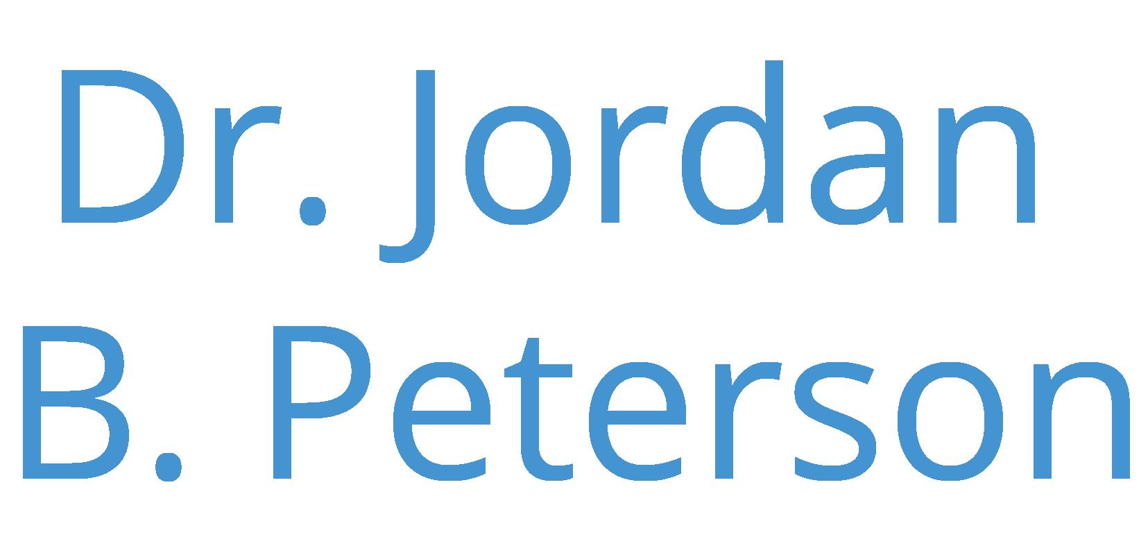Dr. Jordan B. Peterson Logo