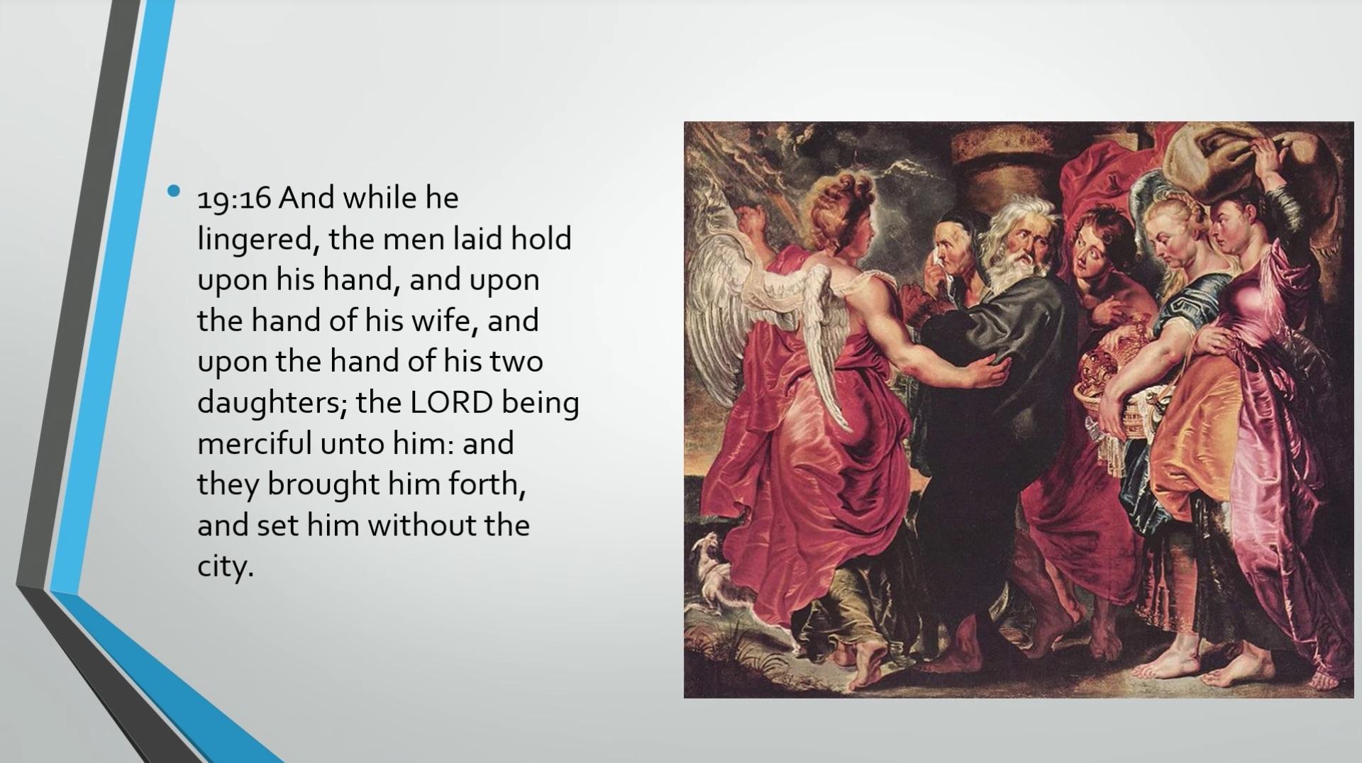 Biblical Series XI: Sodom and Gomorrah Transcript | Jordan