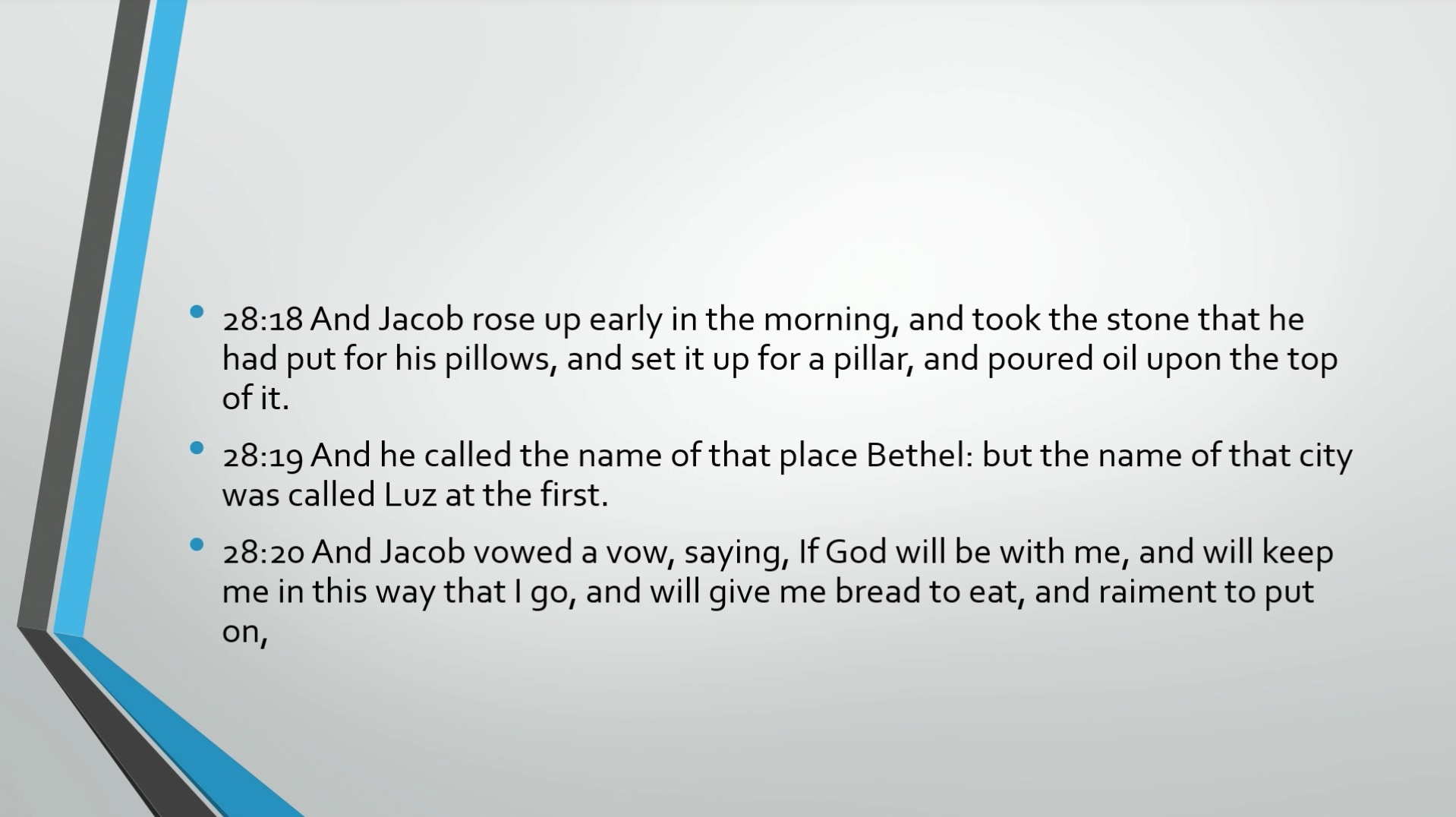 Biblical Series XIV: Jacob: Wrestling with God Transcript | Jordan