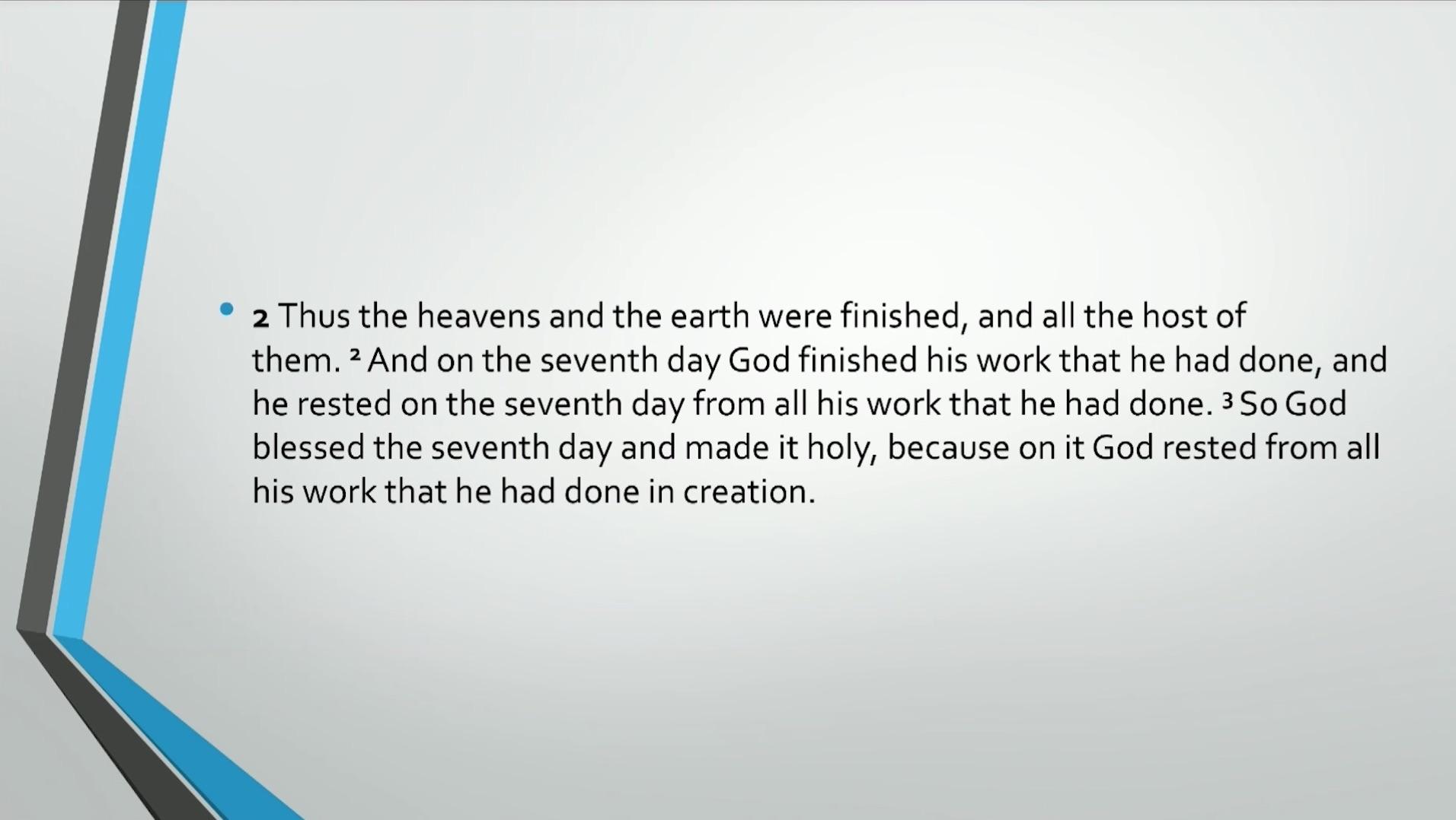 2569a824355 Biblical Series II: Genesis 1: Chaos & Order Transcript