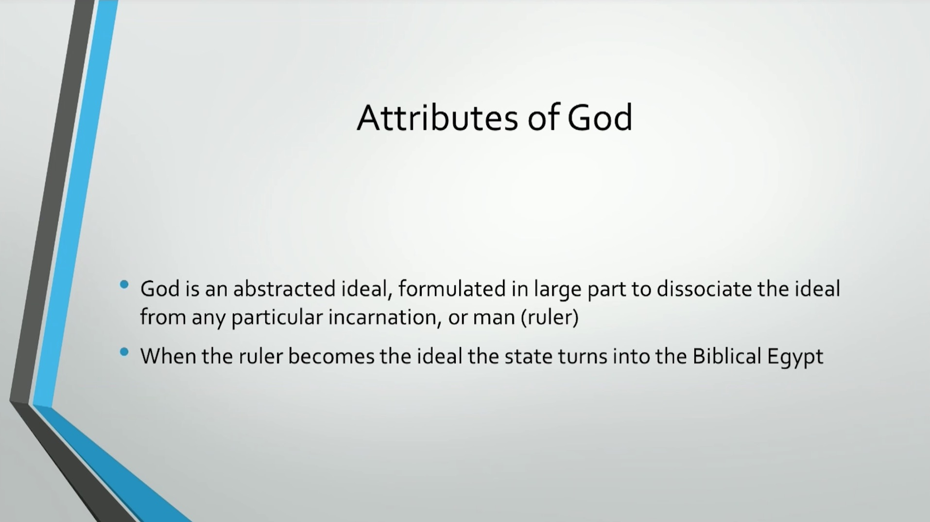 Biblical Series III: God and the Hierarchy of Authority