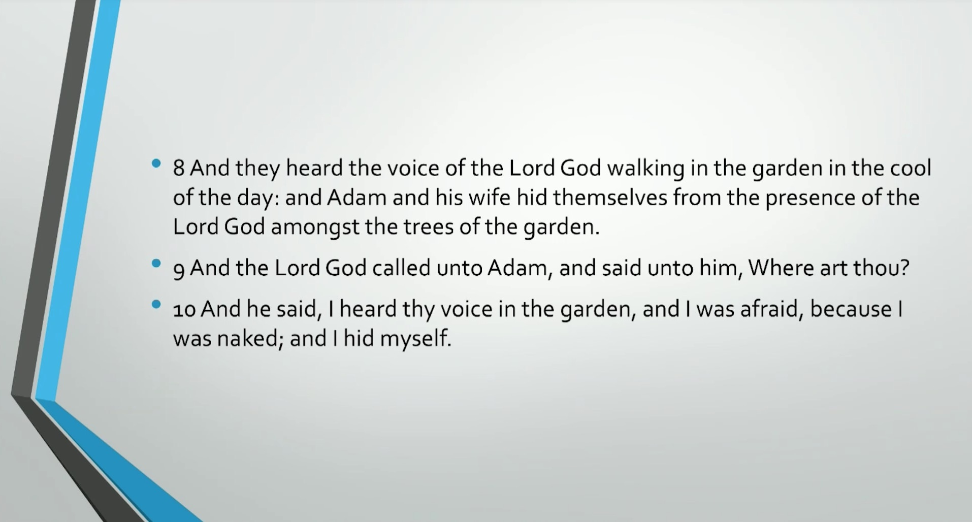 Bible Series IV: Adam & Eve: Self-Consciousness, Evil