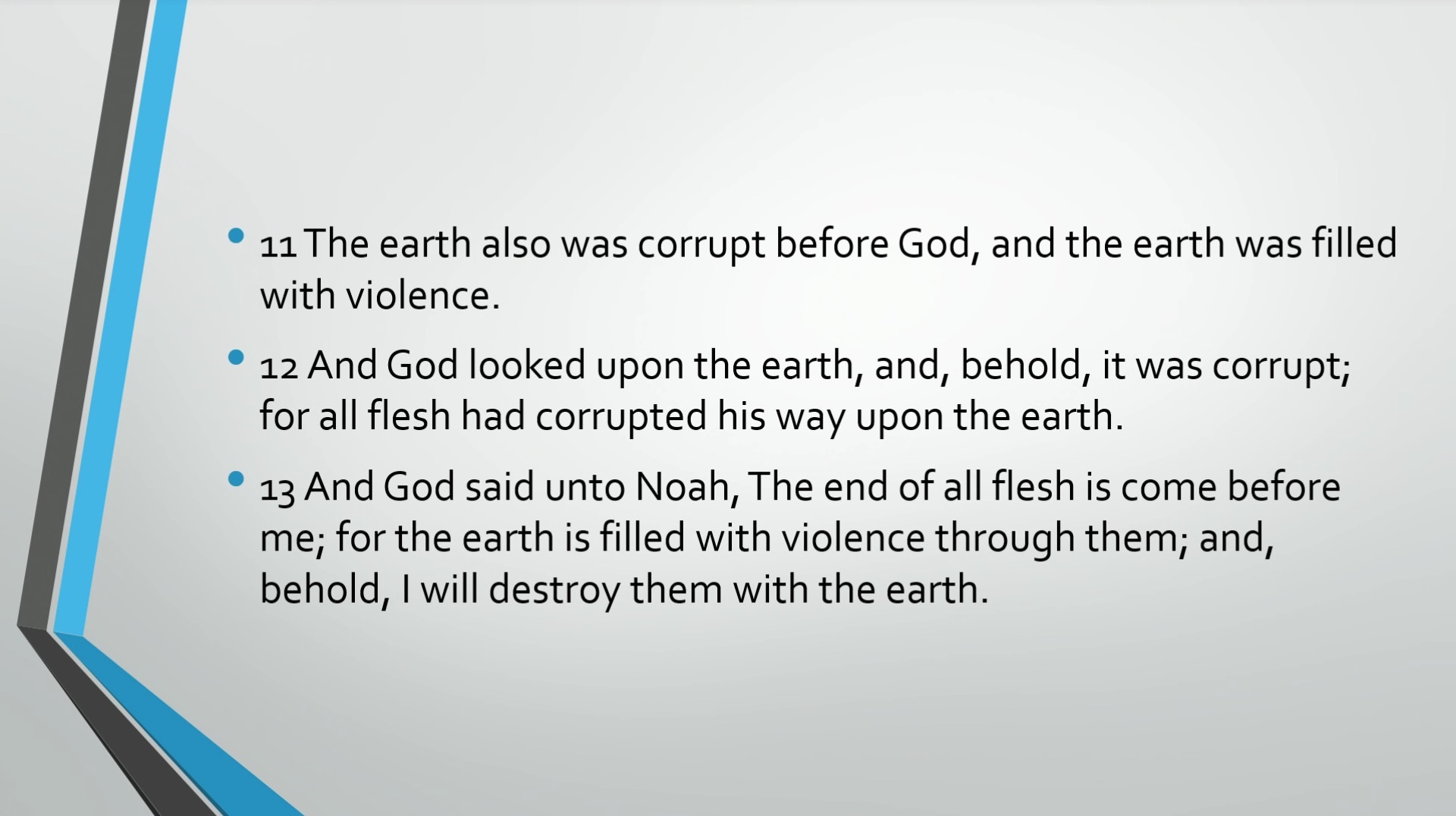 Biblical Series VII: Walking with God: Noah and the Flood