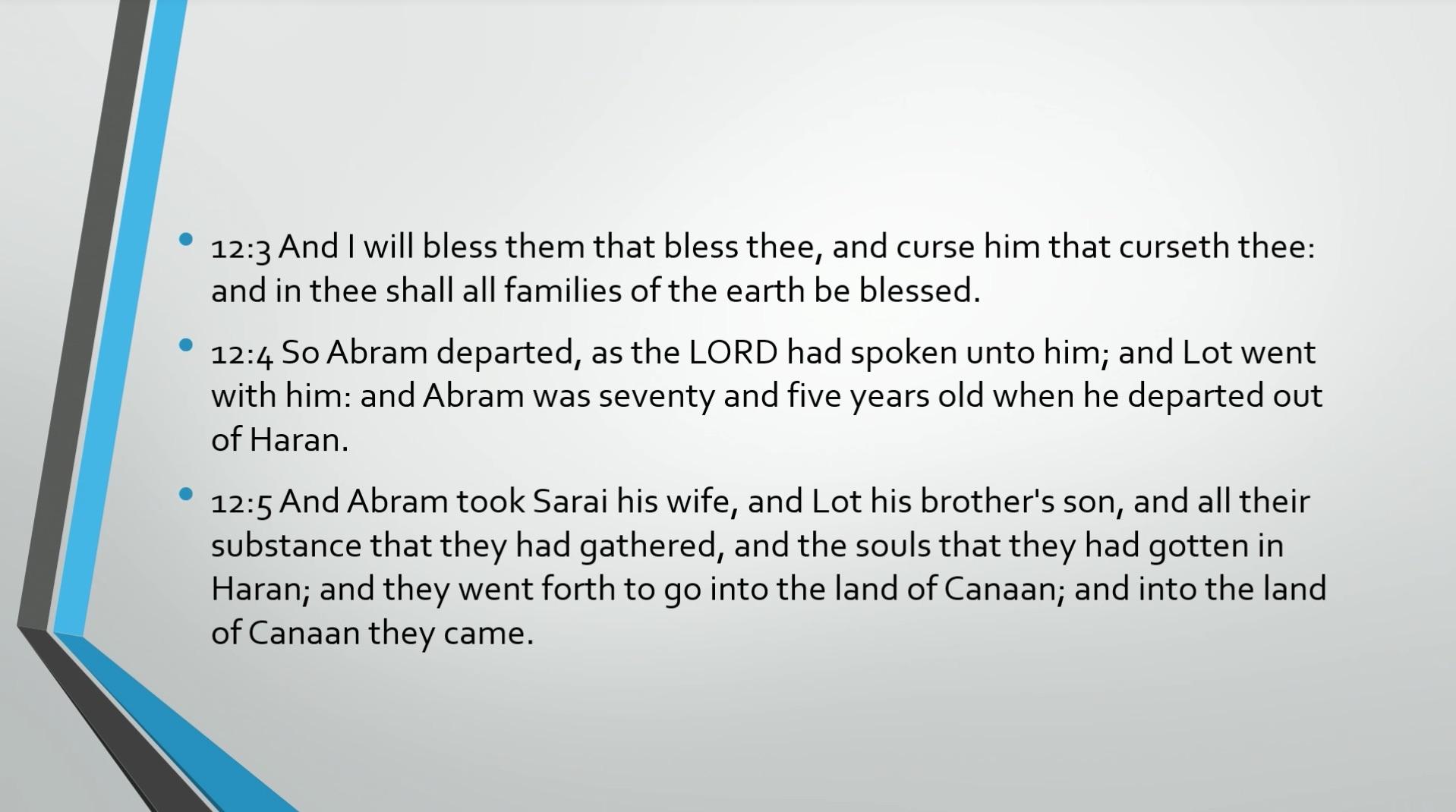Biblical Series IX: The Call to Abraham Transcript | Jordan Peterson