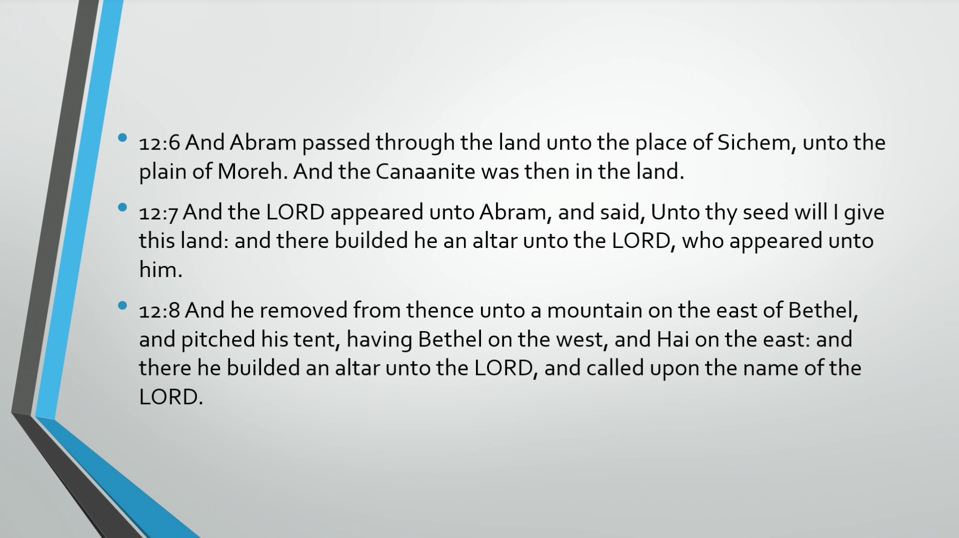 Biblical Series IX: The Call to Abraham Transcript | Jordan