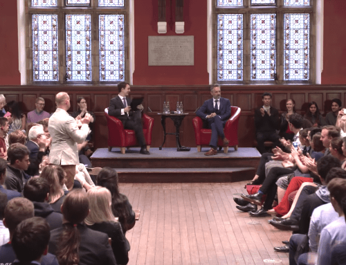 Oxford Union Full Address and Q&A Transcript